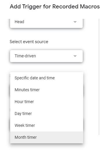 google script time trigger